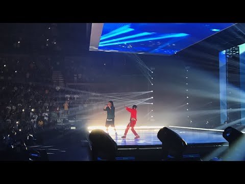 Kendrick Lamar Brings Out J. Cole to Perform For DAMN Tour in Detroit, MI