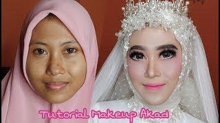 Tutorial Makeup akad   vlog wedding job #2