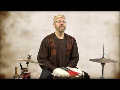 Inspired by Ed Thigpen's Brush Technique - Tom Teasley on Djembe