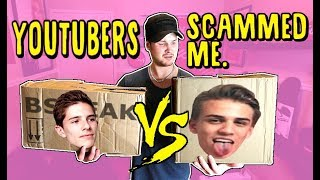 BUYING YOUTUBER MERCH. Who's Is The BIGGEST SCAM? BLAZENDARY VS BLAKE LINDER BSNEAK)