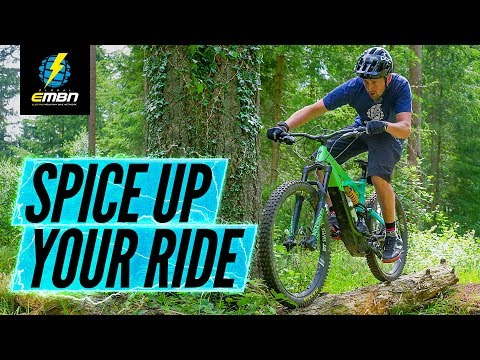 How To Spice Up Your Trail Ride | E-MTB Skills
