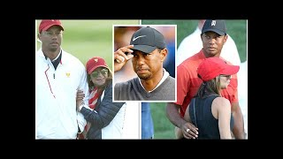 Tiger Woods girlfriend: British Open star cosies up to Erica Herman in unearthed snaps