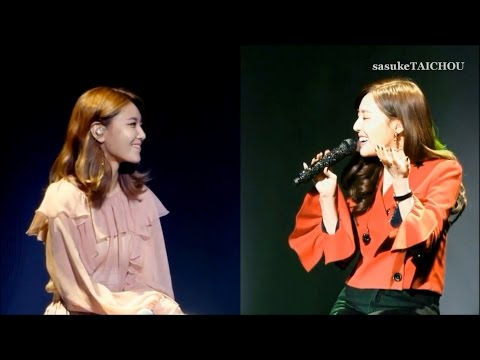 SNSD SooYoung & Tiffany 『그 여름 (0805) / Sailing (0805) 』 Fancam Edited Ver. 170113 「Beaming Effect」