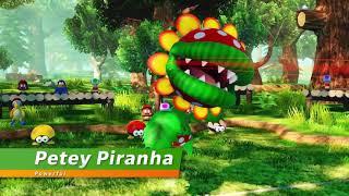 Mario Tennis Aces - Birdo & Petey Piranha DLC Reveal Trailer (+New Character)