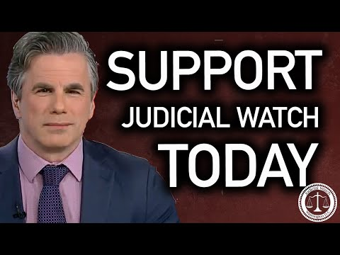 Are You Supporting Judicial Watch?