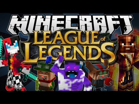 Minecraft   LEAGUE OF LEGENDS! (Champions, Weapons, Magic & More!)   Mod Showcase - Smashpipe Games