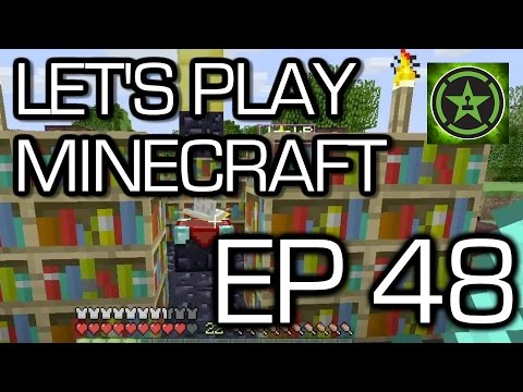 Let's Play Minecraft - Episode 48 - Enchantment Level 30 - Part II - Smashpipe Games Video