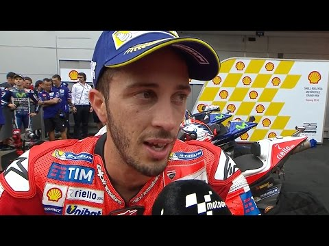 "Dovizioso: ""I really wanted to win"""