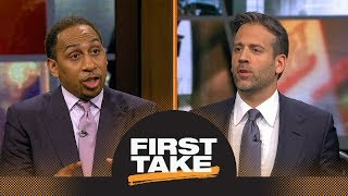 First Take reacts to Carmelo Anthony staying with Thunder next season   First Take   ESPN