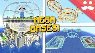 How to Build EPIC BASES in Survival Minecraft!