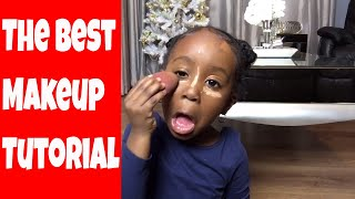 4 YEAR OLD NEVAEH IS BETTER THAN SOME MUA- ( HILARIOUS PART 1 )