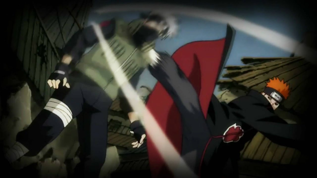 Kakashi vs Pain Amv-Kakashi's Death-Start Again - YouTube  Kakashi vs Pain...