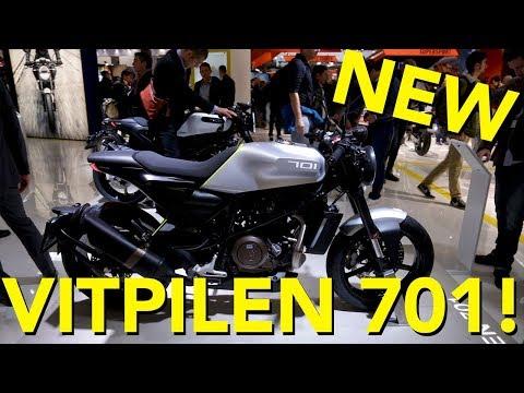 2018 Husqvarna Vitpilen 701 First Look