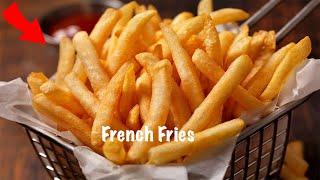 🔥[ কুড়মুড়ে KFC ফ্রেঞ্চ ফ্রাই রেসিপি ]  French Fry Recipe Bangla | Crispy French Fries