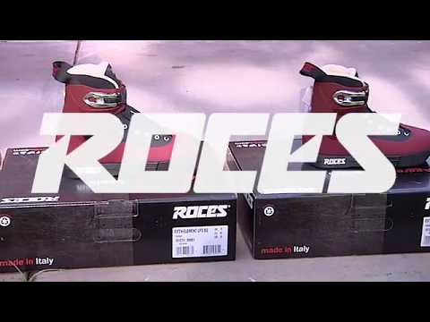 Video ROCES Roller Street 5th ELEMENT UFS 2019 Marron