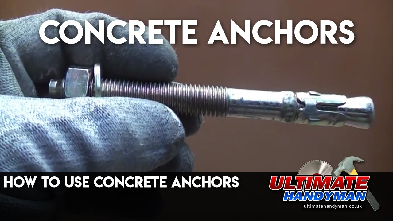 Concrete Anchors Youtube