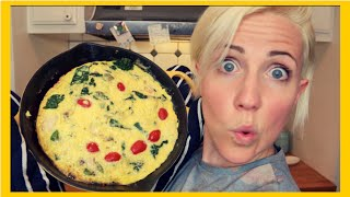 MY DRUNK KITCHEN: FANCY FRITTATA!
