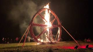 Tlachtga -  Halloween returns to where it began, a hill top in Meath, Ireland