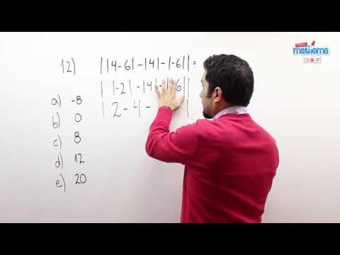 Prueba de números enteros 12