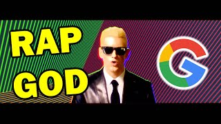 Rap God but every word is a Google image