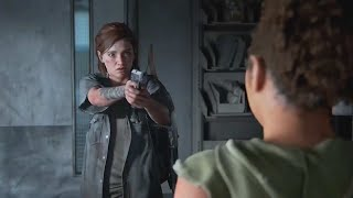 Ellie confronts Nora at the Hospital + Chase Scene - The Last of Us Part II