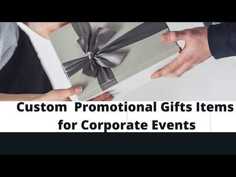 Custom Promotional Gifts Items for Corporate Events