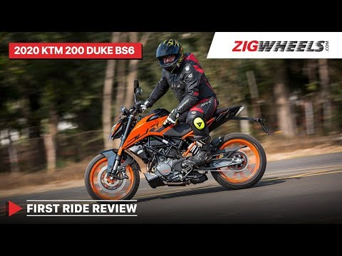 2020 KTM 200 Duke BS6 First Ride Review | India's Favourite Duke Gets Better