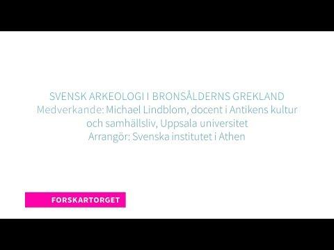 Forskartorget 2018 - Svensk arkeologi i bronsålderns Grekland