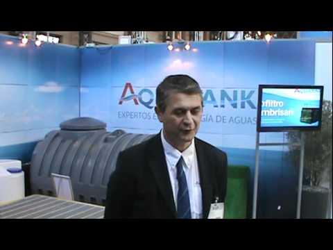 Lanzamiento nueva línea Premium de Infraplast : Aquatank - Feria Ambiental 20122