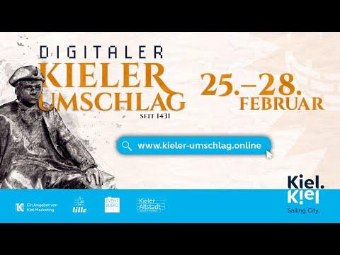 Digitaler Kieler Umschlag live aus dem Welcome Center Kiel