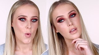 Full Face of First Impressions!! Tarte, Morphe, Too Faced, etc | Lauren Curtis