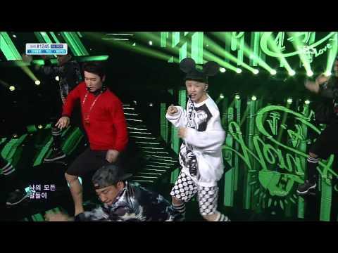 【1080P】Henry(SJ-M) ft.DongHae,EunHyuk(SJ)- 1-4-3 (I Love You) @ Comeback Stage (25 Aug,2013)