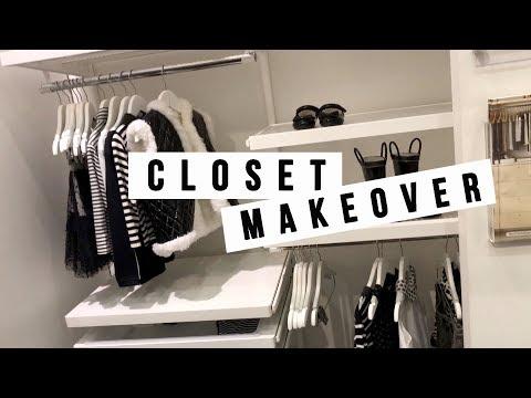 CLOSET MAKEOVER | ANN LE