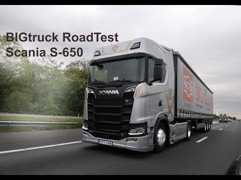 RoadTest Scania S650 Highline
