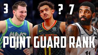 OFFICIAL Top 10 Point Guards In The NBA Pre-2021...