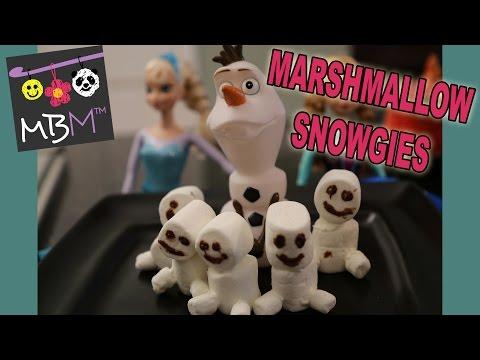 Frozen Fever Marshmallow Snowgies Mini Snowmen from Elsa's Sneezing!