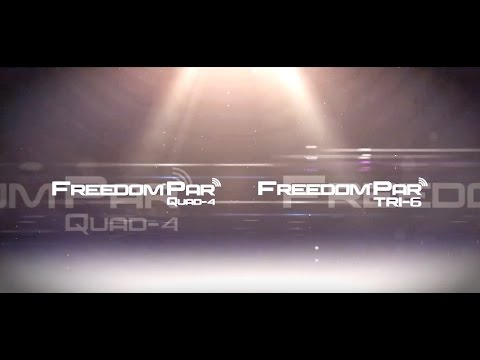 Chauvet DJ Freedom Par Tri 6 and Freedom Par Quad 4 LED Uplights