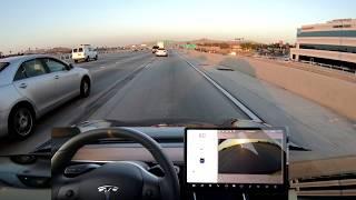 New Tesla Autopilot Update - Offramps and Interchanges - 2018.21.9