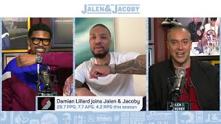 Damian Lillard Announces His New Tissot Partnership on Jalen and Jacoby