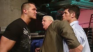 Randy Orton slaps Dusty Rhodes in front of his son Cody: Raw, July 2, 2007