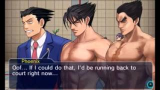 Project X Zone 2 - Phoenix Wright/Maya Fey Unique Pre Battle Dialog