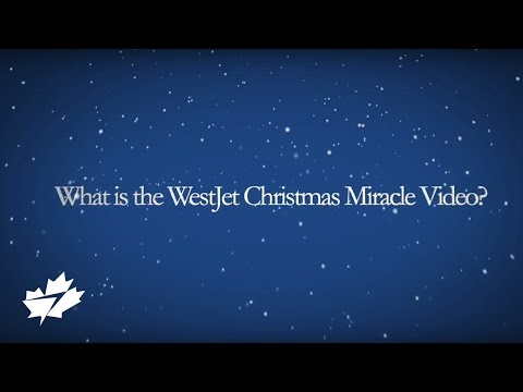 Video: An exclusive video interview with Richard Bartrem, WestJet Vice-President, Communications and Community Relations, speaking to the inspiration and logistics behind the airline's second annual holiday surprise video, The WestJet Christmas Miracle. In the spirit of holiday giving, WestJet surprised travellers with a real-time holiday miracle with the help of WestJet's Digital Command Centre and a team of more than 150 WestJetters.
