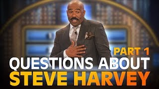 Funny Family Feud questions… about STEVE HARVEY!   Family Feud   PART 1
