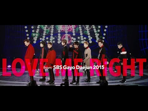 151227 EXO「LOVE ME RIGHT」Special Edit. from Gayo Daejun 2015