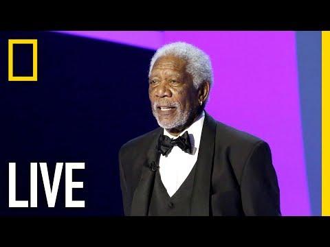 LIVE – Morgan Freeman hosts the Breakthrough Prize | Nat Geo Live