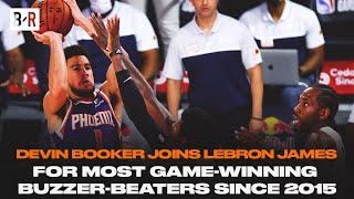 Devin Booker Hits Wild Game-Winner Over Paul George & Kawhi Leonard