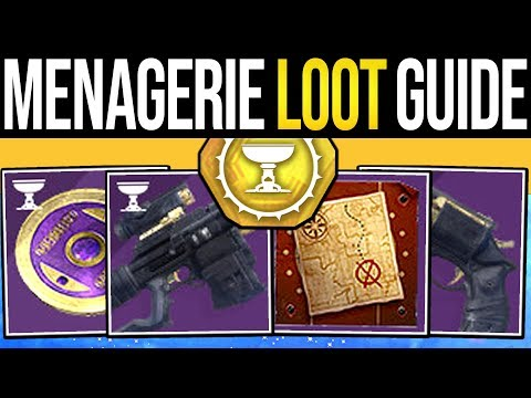 Destiny 2   MENAGERIE LOOT GUIDE! Unlimited Chest Exploit, Guaranteed Weapons, Imperials & Runes!
