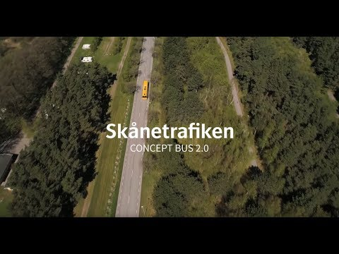 Skånetrafiken: Konceptbuss 2.0