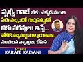 Actress Karate Kalyani Comment on Comedian Prudhvi Raj