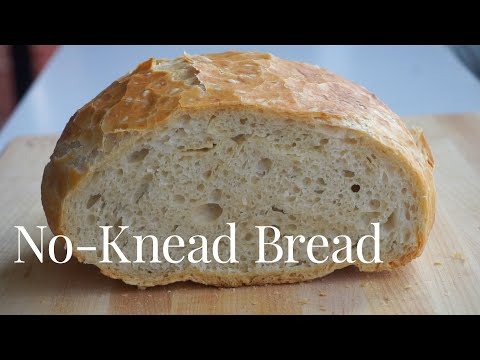 How to Easily Make No-Knead Bread at Home | Bake #WithMe